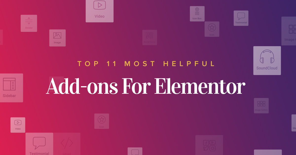 Amazing Plus 10  Add-ons For Elementor